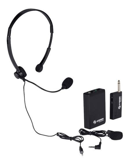 Micrófono Inalámbrico De Solapa O Diadema Steren