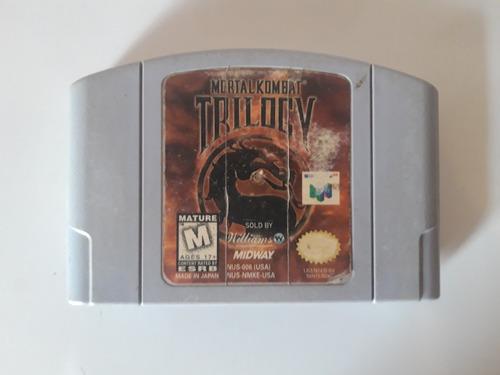 Juego Nintendo 64 N64 - Mk Trilogy