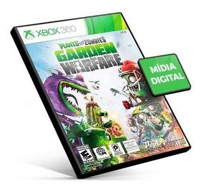 Plants Vs Zombies: Garden Warfare Xbox 360 Código 25 Dígitos