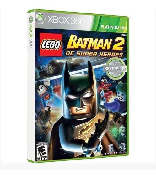 Lego Batman 2 Xbox 360 Original Midia Fisica + Brinde