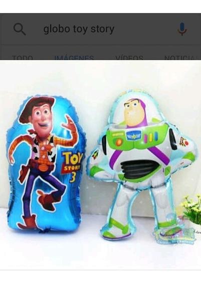 10 Globos Figura Toy Story 60 Centimetros.