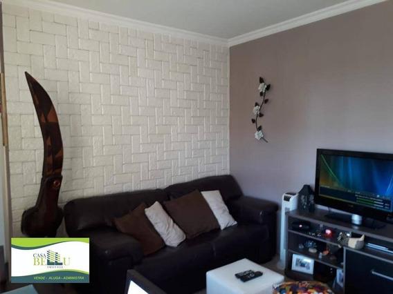 Apartamento Com 2 Dormitórios À Venda, 51 M² Por R$ 180.000,00 - Morro Grande - Caieiras/sp - Ap0082