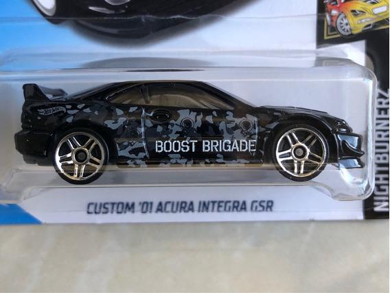 Hot Wheels Custom 01 Acura Integra Gsr - Preto