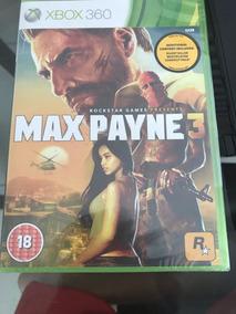 Jogo De Xbox 360 Max Paine 3 Novo Lacrado