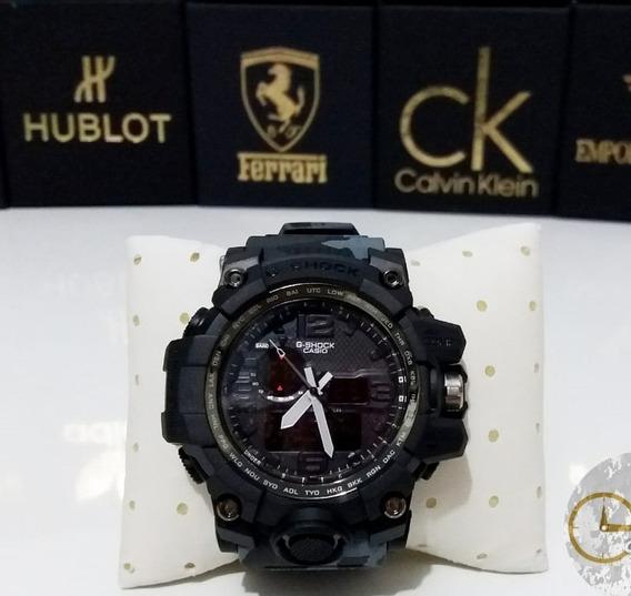 Relógio Camuflado Cinza Masculino 2 Maquinários