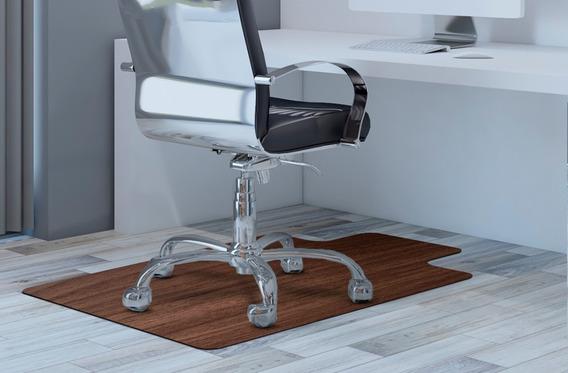 Tapete Protetor Piso/cadeira Game Linha Luxo Madeira 1,20x85