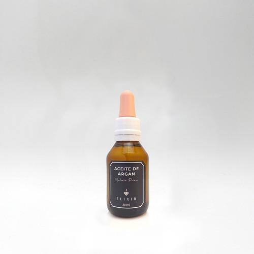 Imagen 1 de 3 de Aceite De Argan 30ml Elixir Materia Prima Caba
