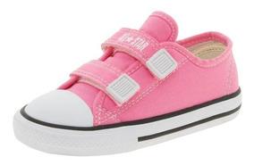 Tênis Baby Rosa All Star Ck05080006 Original C/nota