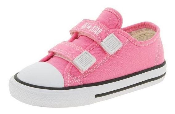 Tênis Baby Rosa All Star Ck05080006 Original C/nota