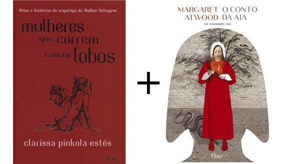 Kit Livros Mulheres Que Correm Com Os Lobos + O Conto Da Aia