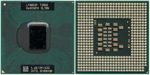 Processador Intel Core Duo T2050 Sl9bn 1.60ghz/2mb/533