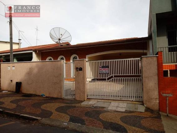 Casa Com 3 Dormitórios Para Alugar, 250 M² Por R$ 2.800,00/mês - Jardim Santana - Valinhos/sp - Ca0306