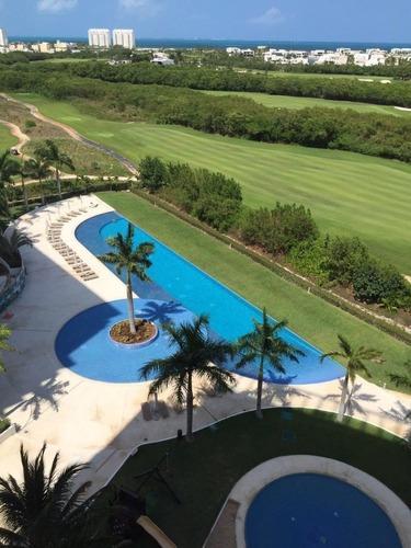 Departamento En Venta Puerto Cancun Vista Al Mar Y Golf