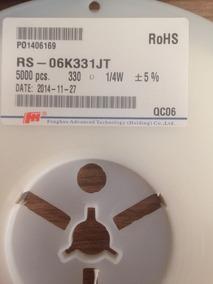 Resistor Smd 1206 330r 5% ( Rolo Com 5000pcs)