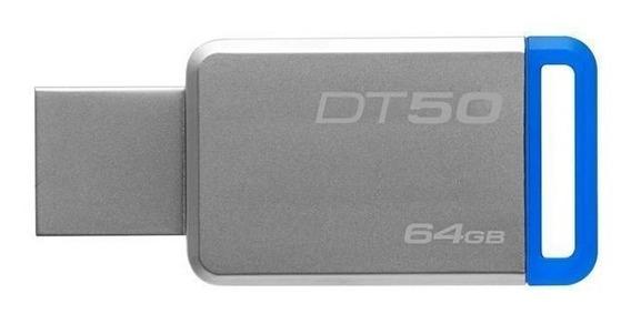 Pendrive Kingston Datatraveler 50 64gb Usb