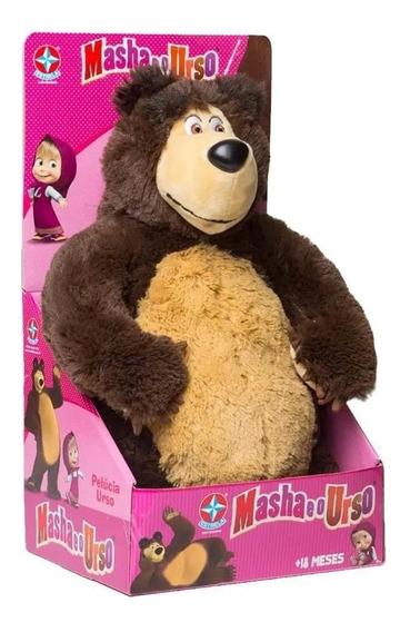 Brinquedo Pelucia Urso Masha E O Urso Original Estrela