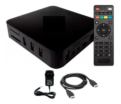 Conversor A Smart Tv Box Android 7 4k Wifi Netflix Youtube