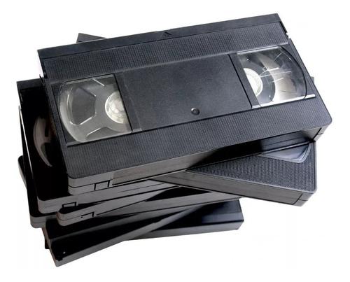 Digitalización Profesional De Vhs A Cd - Dvd - Pen Drive