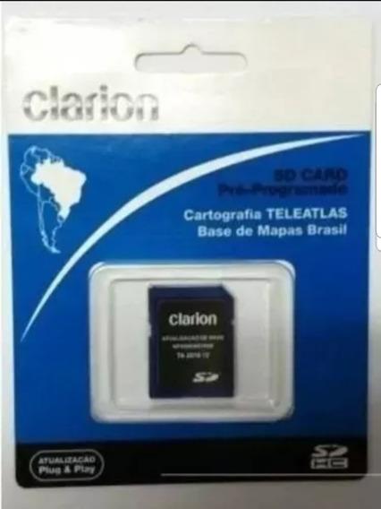 Atualização Multimídia Clarion Nx700b + Cartao 8g + Brinde