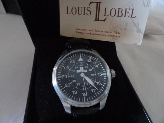 Louis Lobel Estilista Famoso Caixa E Documentos 47mm