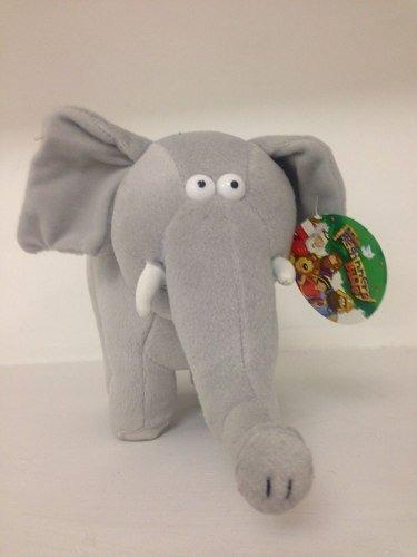 Elefante Mod 4 Gris 30cms Largo 6 Piezas $1690.00