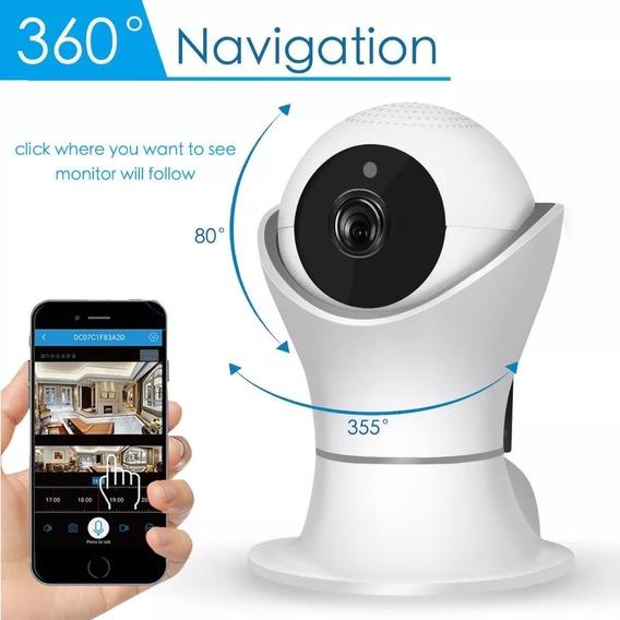 Camara Seguridad Ii Wifi Fulhd 1080p Domo Motorizado 360º