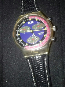 Raro Swatch Cronografo Blue Chip