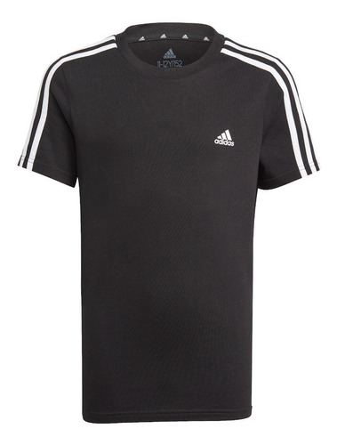 Imagen 1 de 4 de Polera adidas Essentails Niño Negra