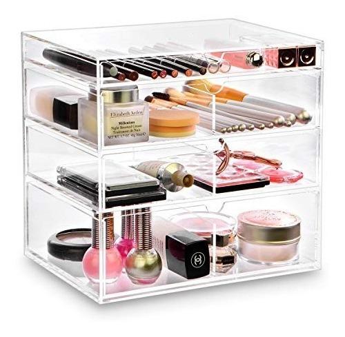 Estuche Organizador Maquillaje Ikee Design 4 Cajones