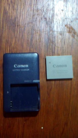 Cargador Con Batería Canon Original!! 100% Operativos.