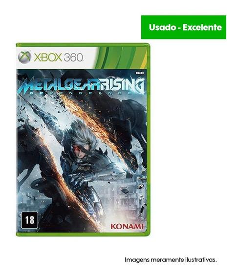 Game Xbox 360 Metal Gear Rising - Usado - Excelente