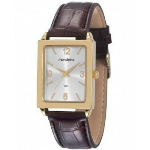 Relógio Feminino Mondaine Pulseira Couro 83283lpmvdh1