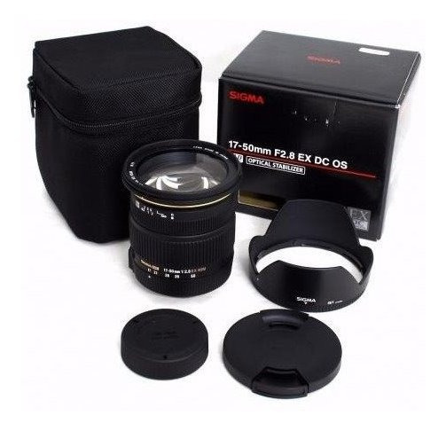 Lente Sigma 17-50mm F/2.8 Ex Dc Os Hsm ( Para Canon )