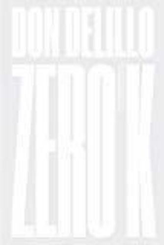 Livro Zero K. Romance Don Delillo