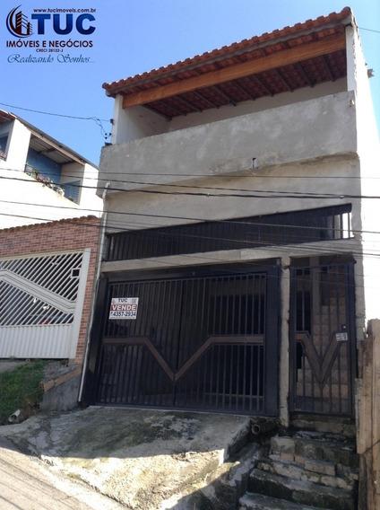 Sobrado C/2 Dorms +salão 5x25 -120 Mil Entrada + Parcelas-s.b.c-alvarenga - 10009