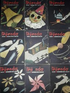 Lote De 34 Revistas Antiguas Tejiendo De 1940 A 1944 Unicas!