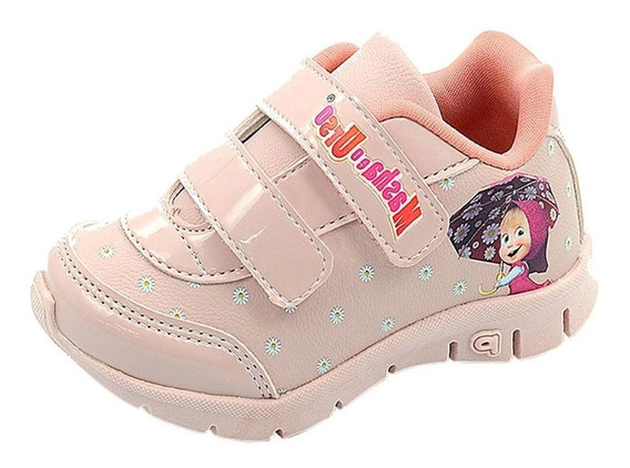 Tênis Infantil Menina Casual Escolar Conforto Ref. 115001
