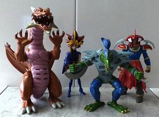 Lote Figuras Yu-gi-oh! Original Mattel 1996 Takahashi Muñeco