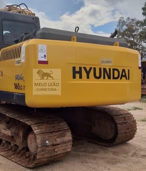 Escavadeira Hyundai 160lc7 Ano 2012 - Com Apenas 4.200 Hrs *