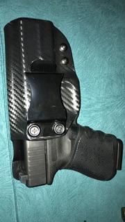 Coldre Interno / Velado Kydex Para Glock G25/19