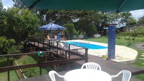 Oportunidade - Chácara À Venda, 6000 M² R$ 900.000,00 - Condomínio Villagio Fazendão - São José Dos Campos/sp - Ch0017