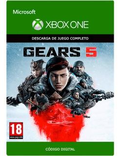Gears 5 Xbox One Y Pc Código Digital