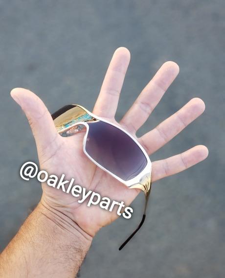 Óculos Juliet Mars 24k Penny Dart Gold Ouro Dourado+brindes