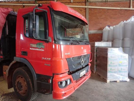 Atego 2429, Bi-truck, Com Ar