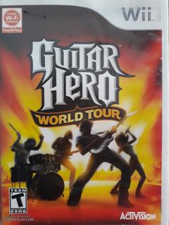 ..: Juego Guitar Hero World Tour Wii Seminuevo :.. Bsg