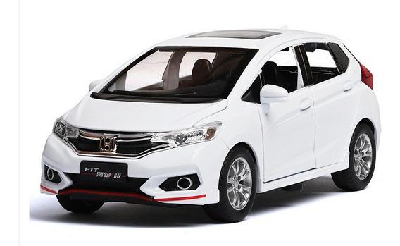 Miniatura Carro Honda New Fit - Em Metal - Escala 1:32