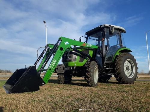 Imagen 1 de 12 de Tractor Chery Doble Tracción 50 Hp Opcional Cabina Y L Pala