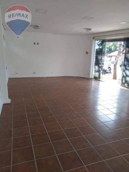 Salão Para Alugar, 60 M² Por R$ 3.500/mês - Vila Thais - Atibaia/sp - Sl0068