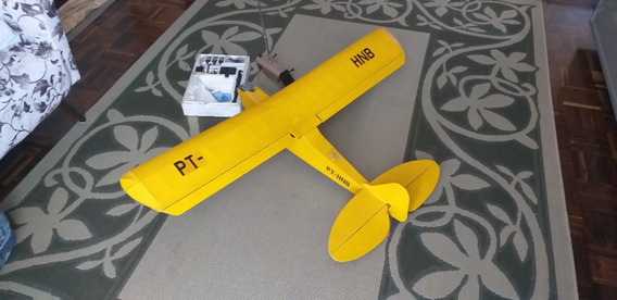 Avião Piper J-3 Cub Controle Remoto