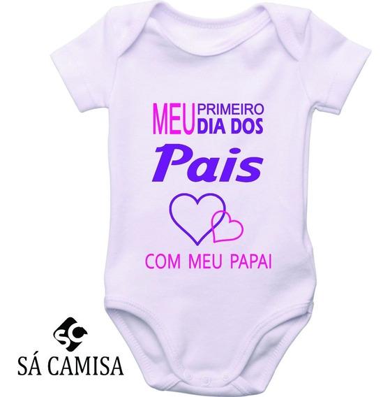 Body Infantilmeu Primeiro Dia Dos Pais -estica